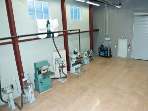 Impact has a full machine shop within the facility.