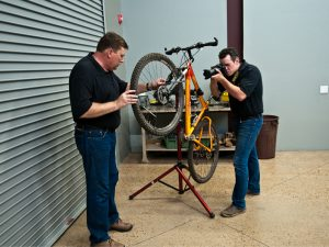 We have experience in the design and testing of road bikes and mountain bikes.